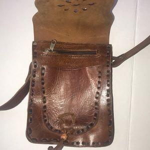 Leather Western Crossbody